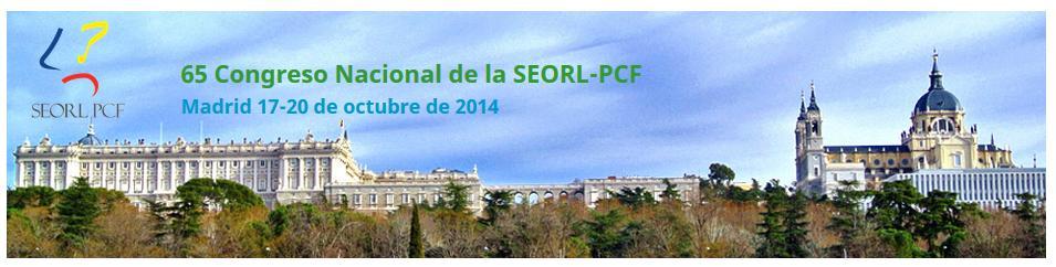 65 Congreso Nacional de la SEORL-PCF
