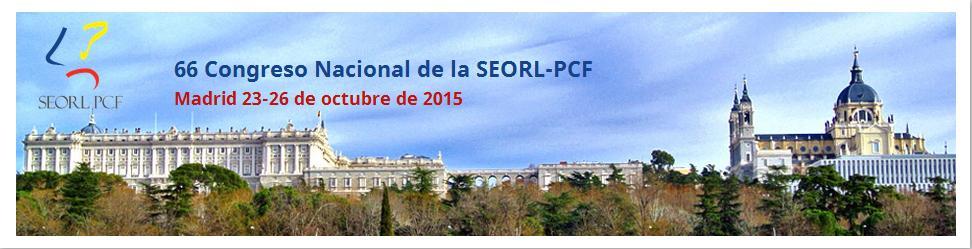 66 Congreso Nacional de la SEORL-PCF