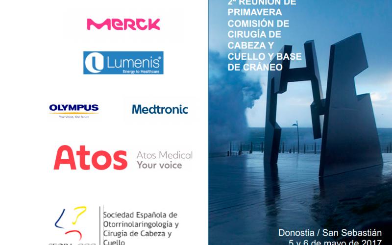 La Comisión de Cirugía de Cabeza y Cuello se reúne en San Sebastián