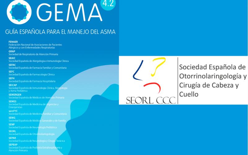 La SEORL presente en la guía multidisciplinar de manejo del asma