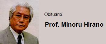 Prof. Minoru Hirano