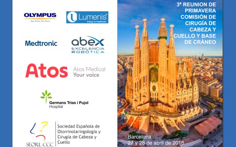 La Comisión de Cabeza y Cuello de la SEORL se reúne este mes en Barcelona