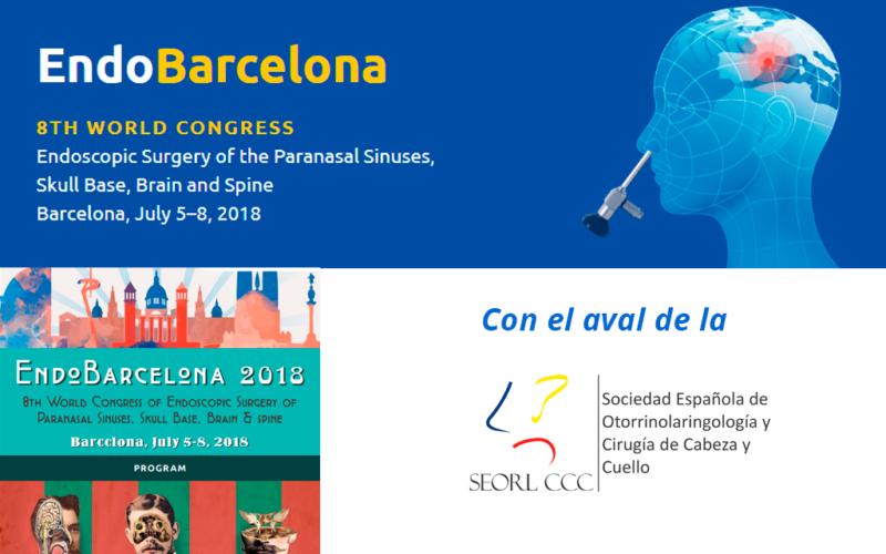 Congreso Mundial de Cirugía Endoscópica de senos paranasales, base de cráneo, cerebro y columna