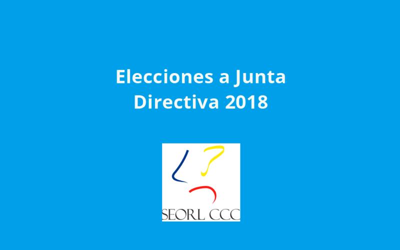 Los socios de la SEORL-CCC elegirán a su nueva junta directiva