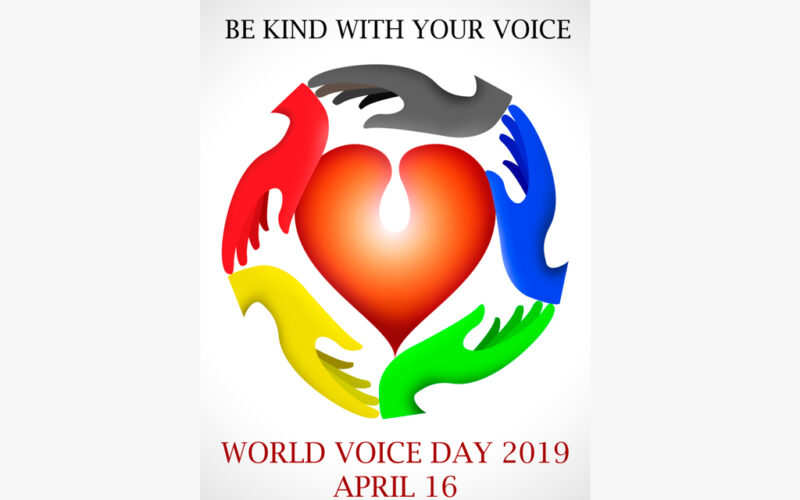La SEORL-CCC celebra un año más el Día Mundial de la Voz