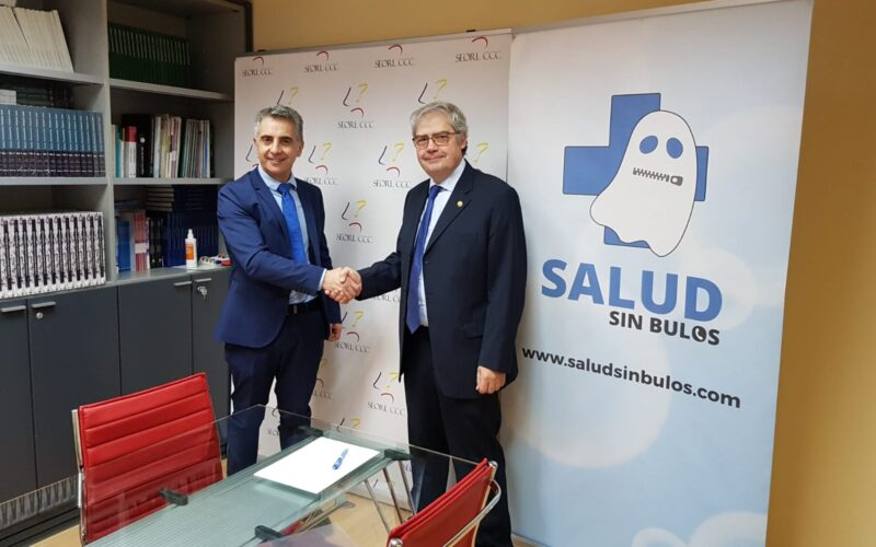 La SEORL-CCC formaliza su acuerdo con #SaludsinBulos