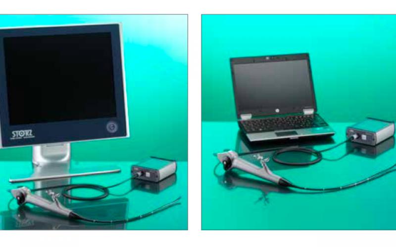 Videorinolaringoscopio STORZ CMOS 11101CM + CHUB II