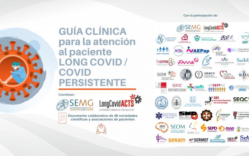 La SEORL-CCC, una de las 48 sociedades que consensuan la Guía de atención al Long COVID