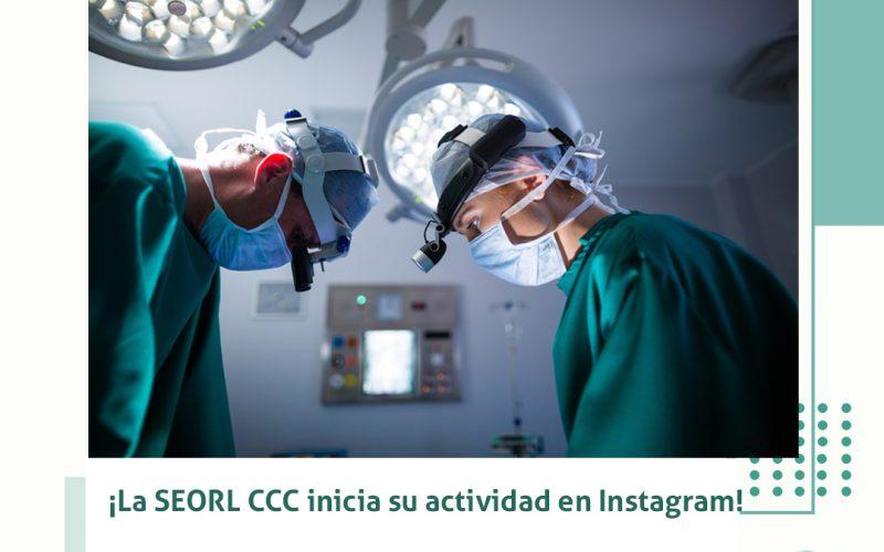 La SEORL-CCC inicia su actividad en Instagram